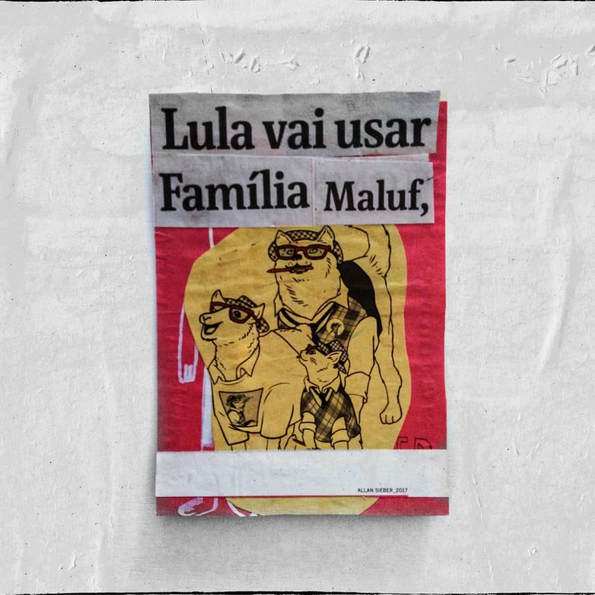 Cartões 18 de janeiro, Colagem — ColetivoPolvora Folha Piauí 18 de janeiro11