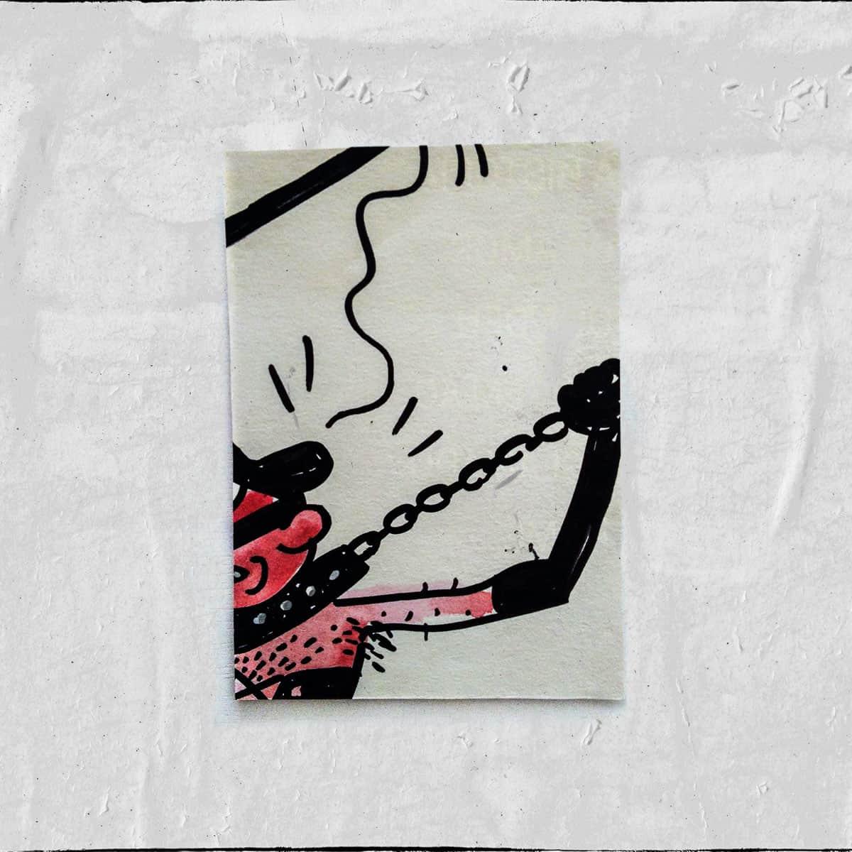 Cartões 18 de janeiro, Colagem — ColetivoPolvora Folha Piauí 18 de janeiro12