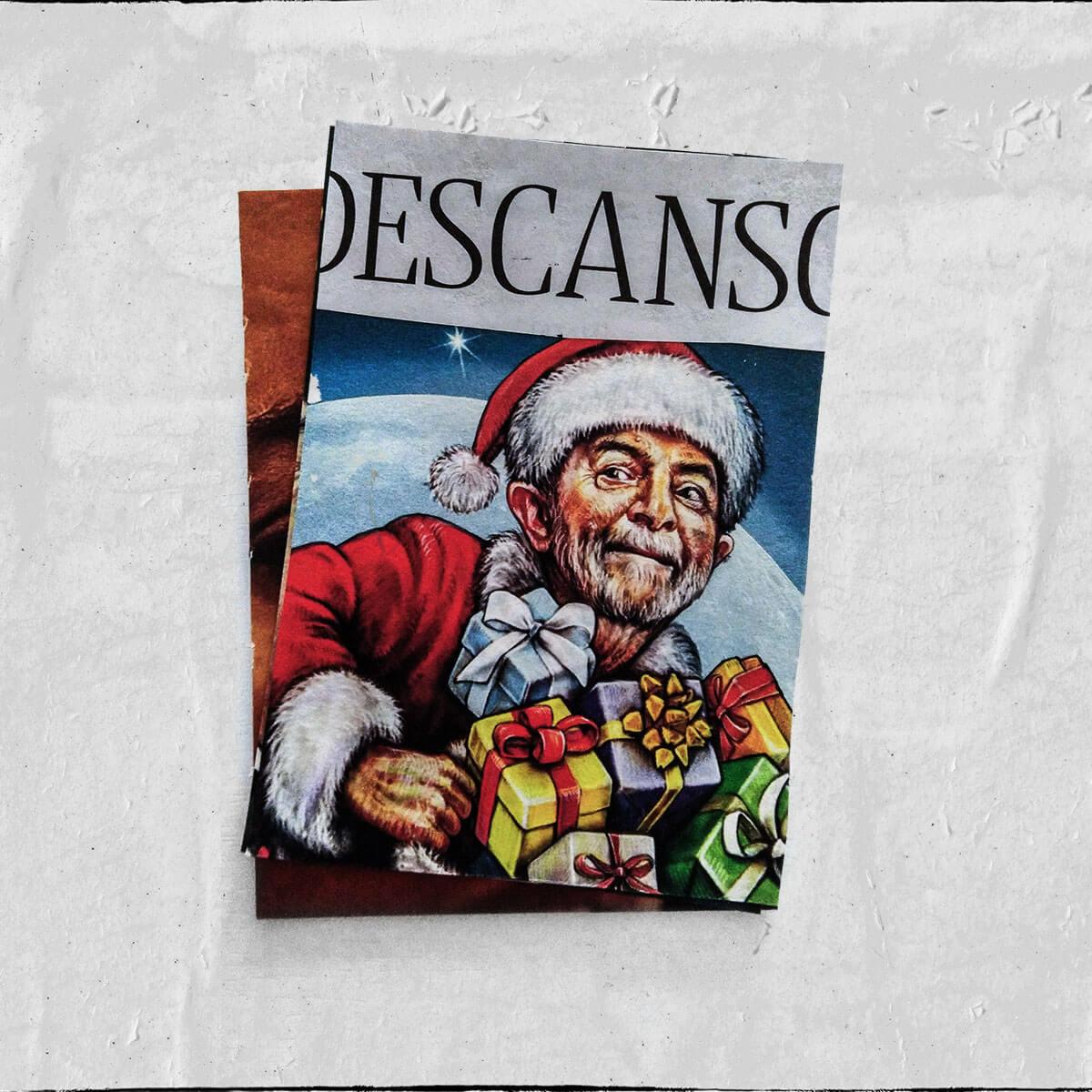 Cartões 18 de janeiro, Colagem — ColetivoPolvora Folha Piauí 18 de janeiro2