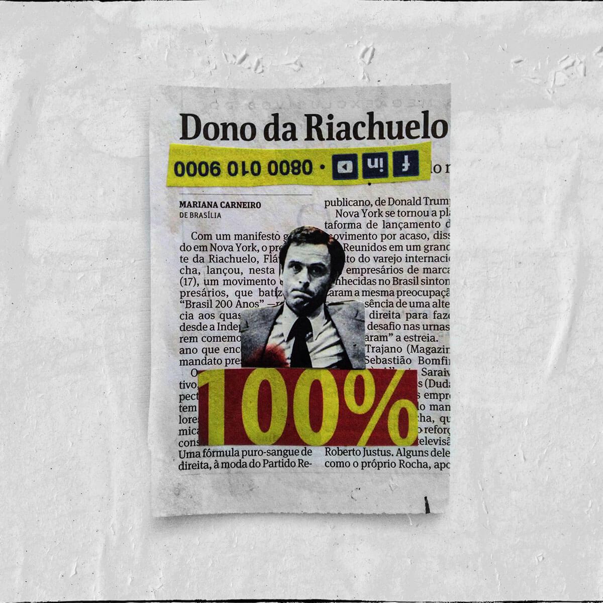 Cartões 18 de janeiro, Colagem — ColetivoPolvora Folha Piauí 18 de janeiro3