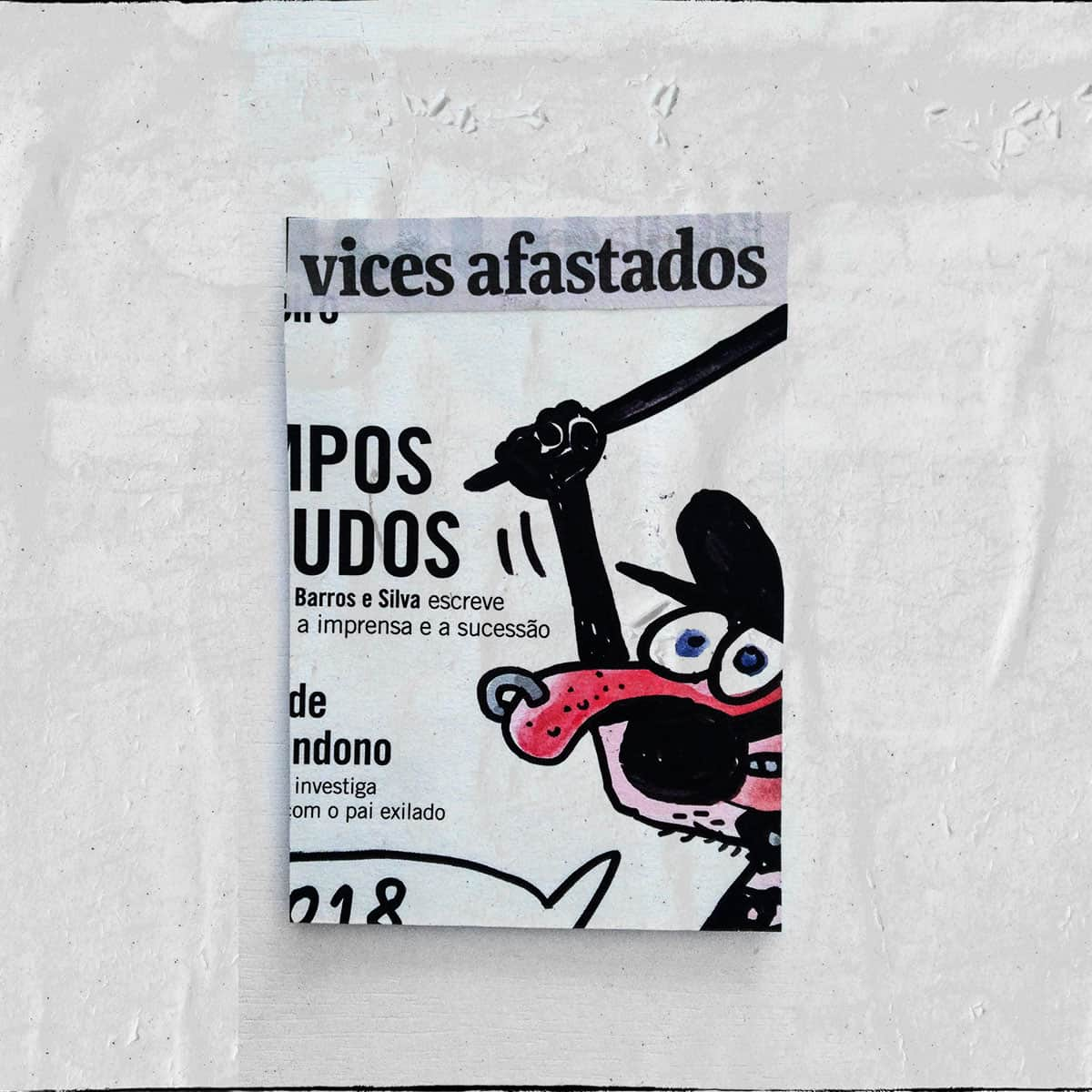 Cartões 18 de janeiro, Colagem — ColetivoPolvora Folha Piauí 18 de janeiro9