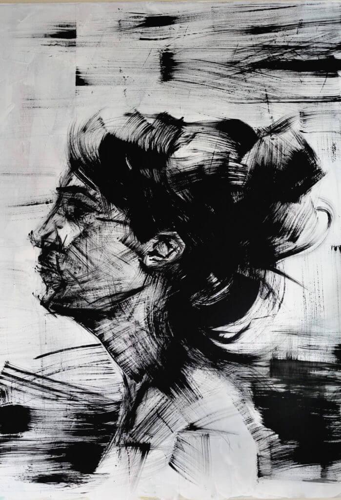 Pincel Seco, Ilustração — ColetivoPolvora pincelseco